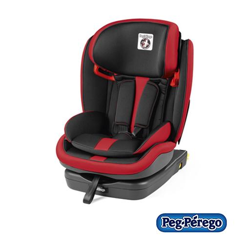 Peg Perego IMDA020035DX13DP53 Seggiolino Auto Viaggio 1 Duo-Fix K per Bambini da 0 a 4 Anni Gruppo 0//1 Nero 0 a 18kg